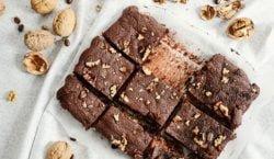 Brownie de nueces, receta de un clásico que siempre queda bien