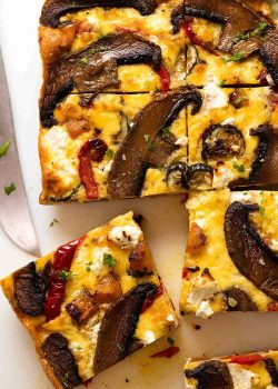 Frittata de verduras al horno |  RecetaTin Eats
