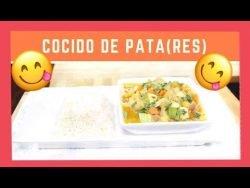 COMO HACER COCIDO DE PATA|RECETA|RES #RECETA #COCINA #SALUD
