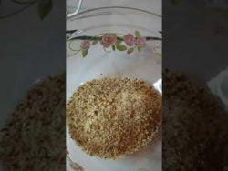 Como hacer harina de Almendras, receta muy fácil de hacer #almendras #receta #recetas #postres