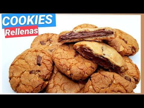 #Cookies RELLENAS de #Chocolate #RECETA SUSCRIBETE⚡ ▶️🔜