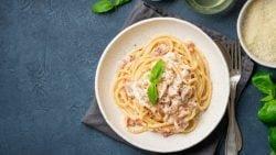 Espaguetis al cava, receta de pasta de lujo fácil de preparar