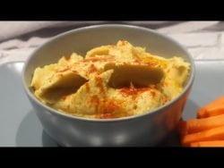 Hummus de MANGO en Monsieur Cuisine, Mambo y Thermomix