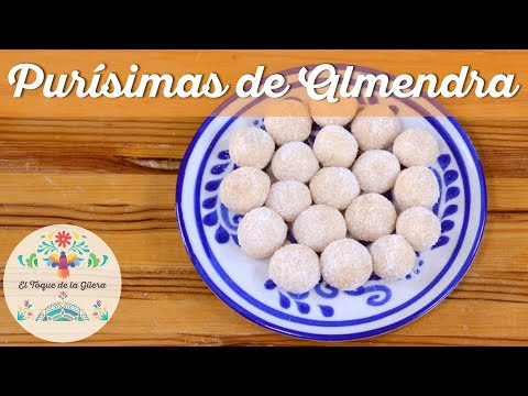 Increíbles Purísimas de Almendra #Receta #Fácil y #Deliciosa 🍬🍬😍👩🍳