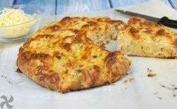 Pan-pizza de ajo