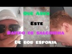 #Receta RECETAS ABSURDAS DE BOB ESPONJA 6. | El BATIDO DE SALCHICHA Asquerosa 🤢🤮.
