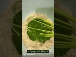 #Receta: Sopes de Espinacas 🌿 y Cilantro 🌿