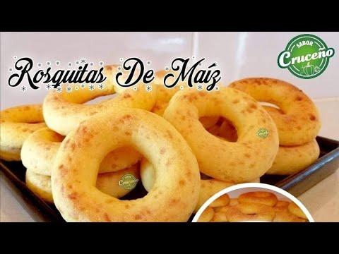 Rosquitas de maíz #RosquitasDeMaíz #Receta